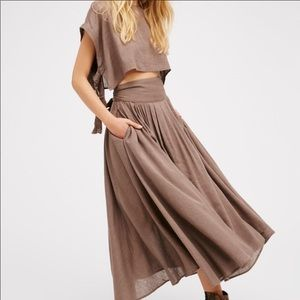 Free People Sundown Skirt Set XS